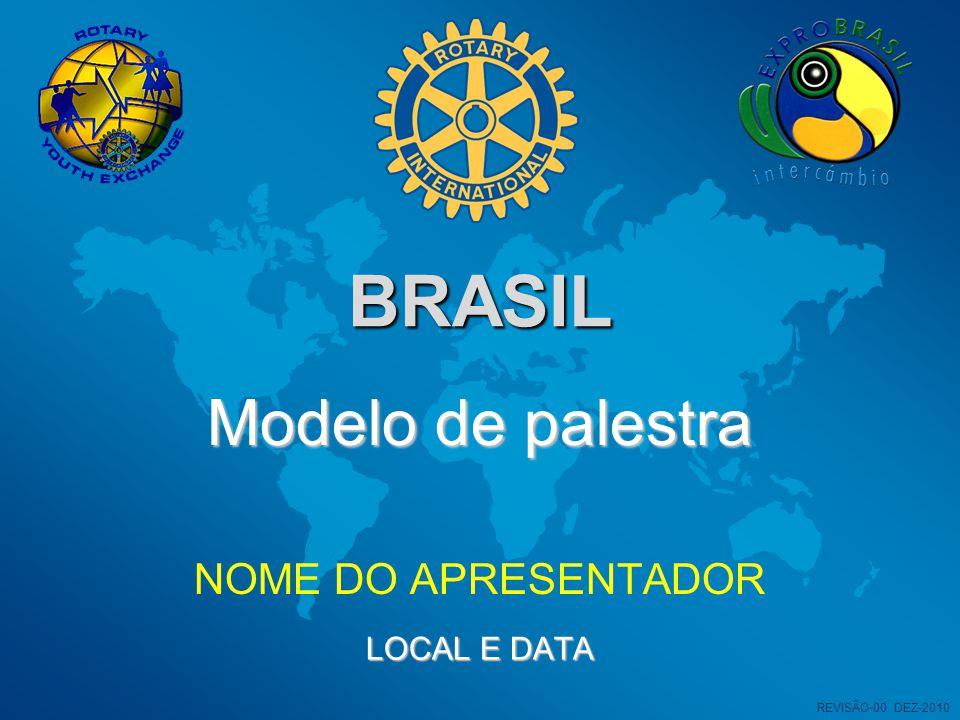 BRASIL NOME DO APRESENTADOR Modelo de palestra LOCAL E DATA REVISÃO-00 DEZ-2010