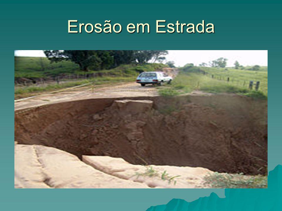 Erosão em Estrada