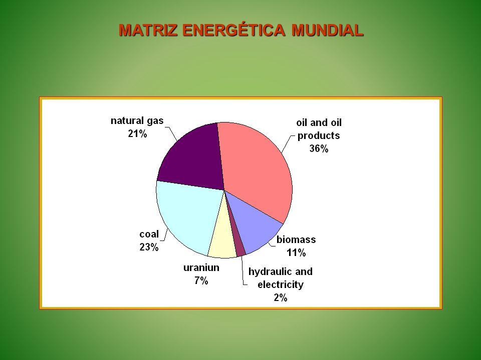 Fontes renováveis 43,9% Fonte: Balanço de Energia Brasileiro (2005) Matriz Energética Brasileira - 2005
