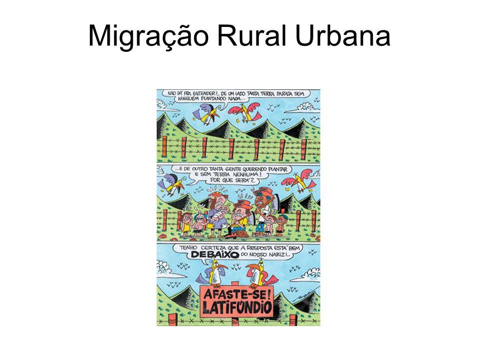 Migração Rural Urbana