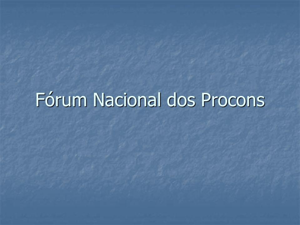 Fórum Nacional dos Procons
