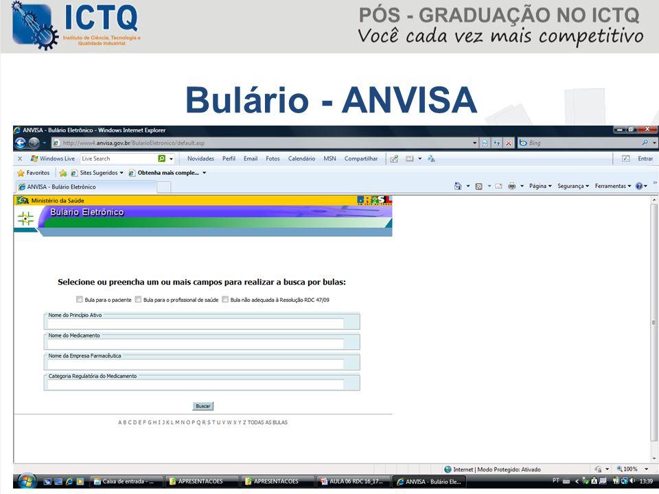 59 Bulário - ANVISA