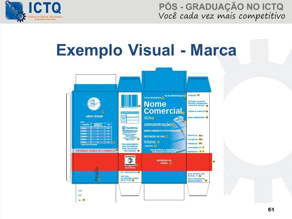 61 Exemplo Visual - Marca