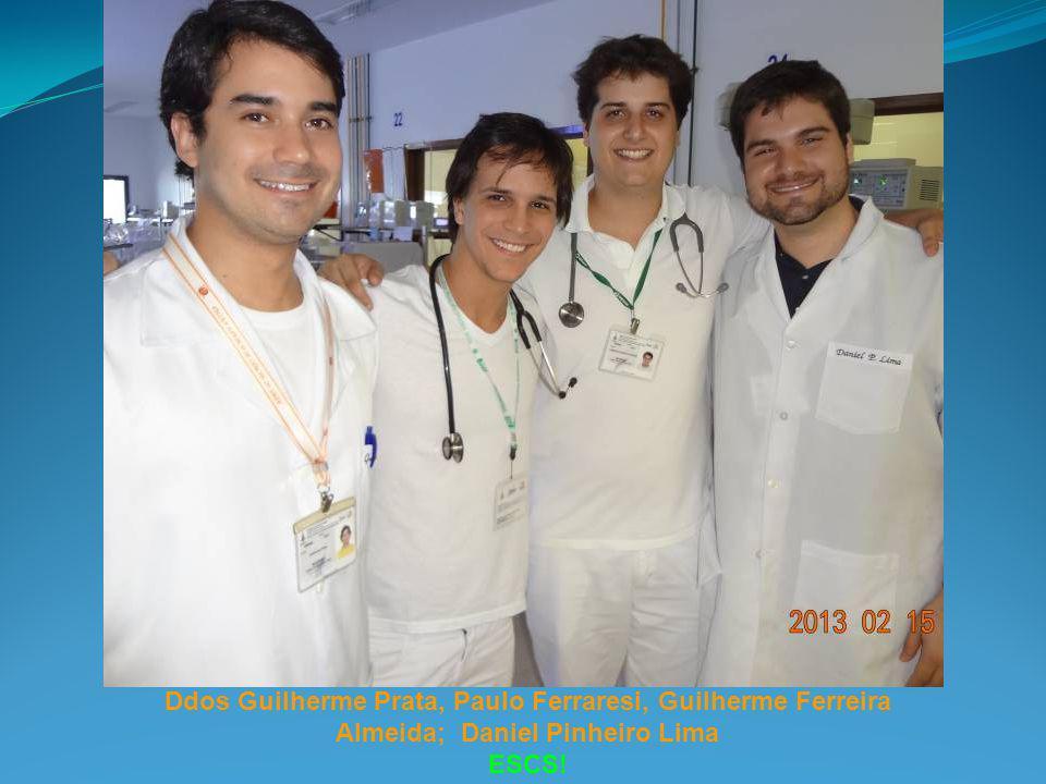 Ddos Guilherme Prata, Paulo Ferraresi, Guilherme Ferreira Almeida; Daniel Pinheiro Lima ESCS!