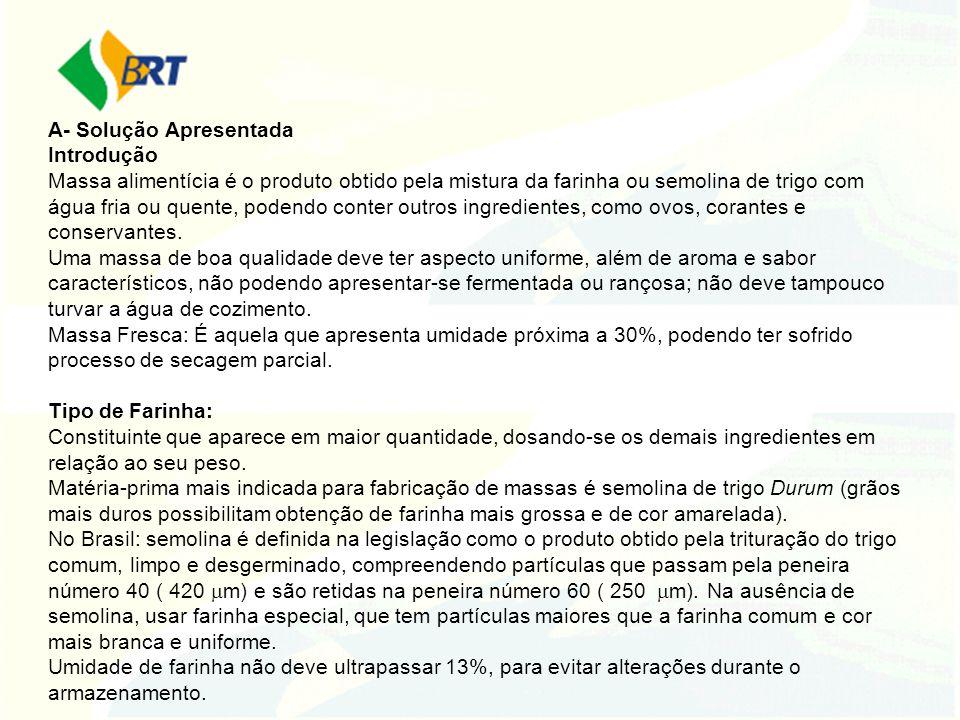 ANÁLISE DOS ATENDIMENTOS EM RELAÇÃO À DEMANDA 33% das solicitações que chegam ao SBRT geram novas RTs; Indicação de RTs Pré-existentes: 25% (customização, aprimoramento ou aproveitamento de RTs do Banco de RTs na íntegra) Atendimentos não publicados como RT: 42% (*) (*) Temas dos atendimentos não publicados Fornecedores de Equipamentos e Matéria-Prima: 31% Alta Complexidade: 15% Abertura de Negócio/Legislação: 20% Trabalho Acadêmico: 14% Plano de Negócio/Pesquisa de Mercado: 8% Outros: 12%