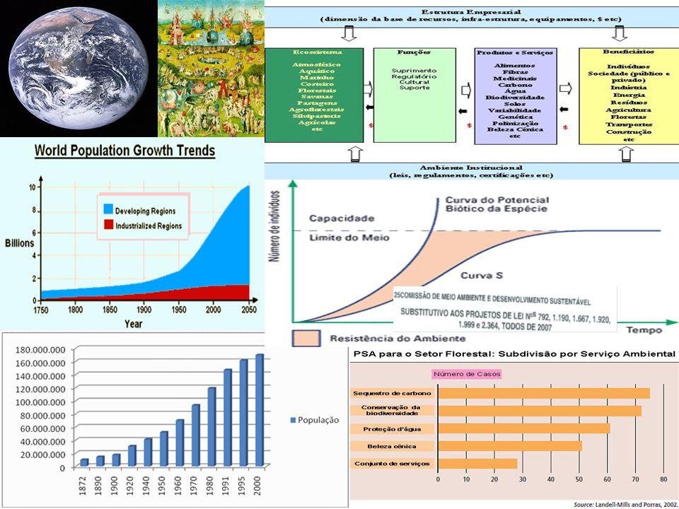 II - Produção Os Fatores de Produção Produção e Sociedade – Função social da produção Distribuição de usos da terra e disponibilidade de Áreas Agriculturáveis no Mundo: –Agricultura –Pecuária –Biocombustíveis Florestas Pegada Ecológica O Desenvolvimento Sustentável dos Cenários Rurais – Índice de Sustentabilidade