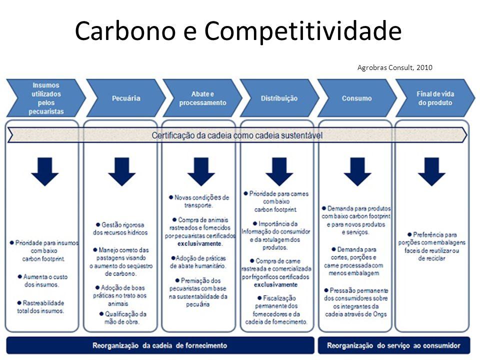 Carbono e Competitividade Agrobras Consult, 2010