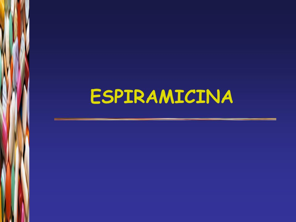ESPIRAMICINA