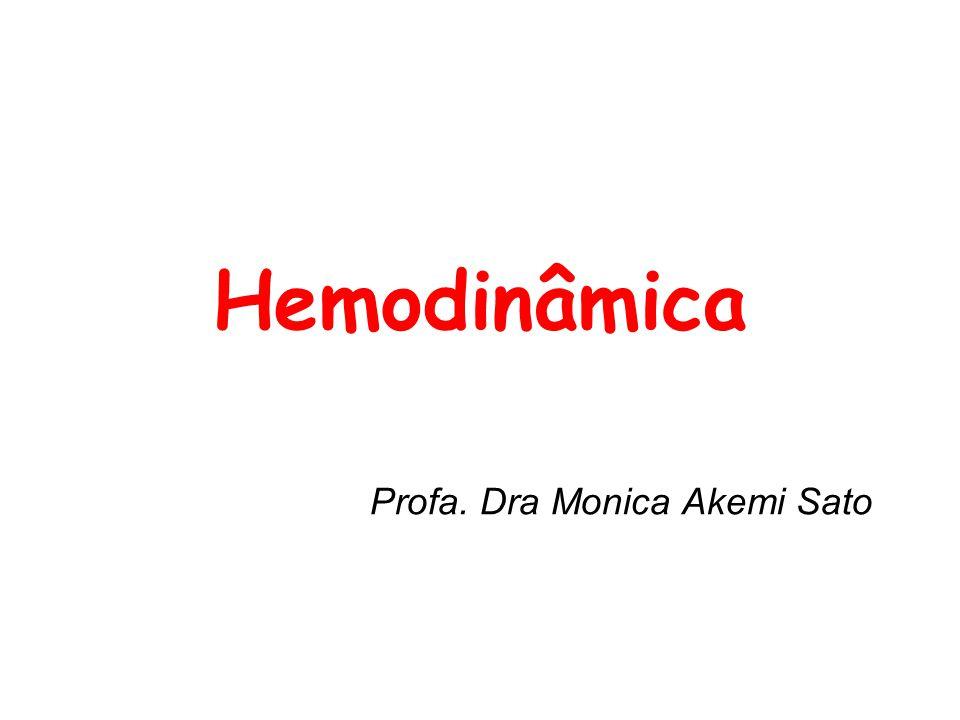 Hemodinâmica Profa. Dra Monica Akemi Sato