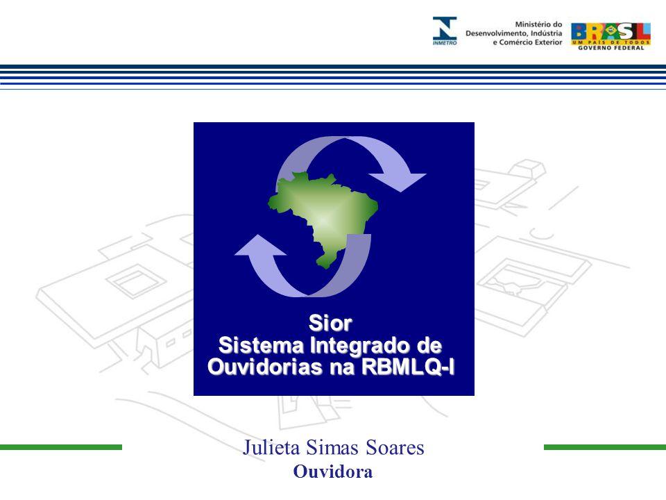 Marca do evento Julieta Simas Soares Ouvidora Sior Sistema Integrado de Ouvidorias na RBMLQ-I