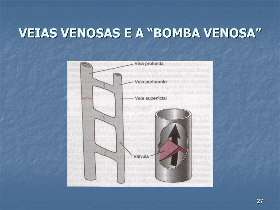 """27 VEIAS VENOSAS E A """"BOMBA VENOSA"""""""