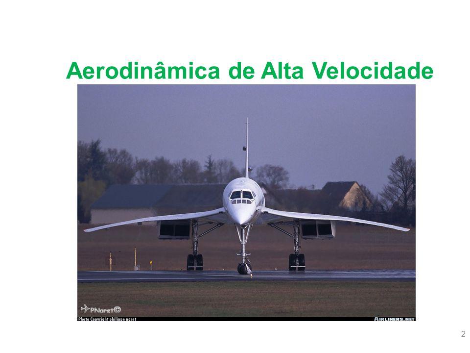 43 Vôo Transônico 6.Mach Trimmer Dispositivo sensível ao número de mach, tem como objetivo manter a estabilidade longitudinal da aeronave, evitando o tuck under .