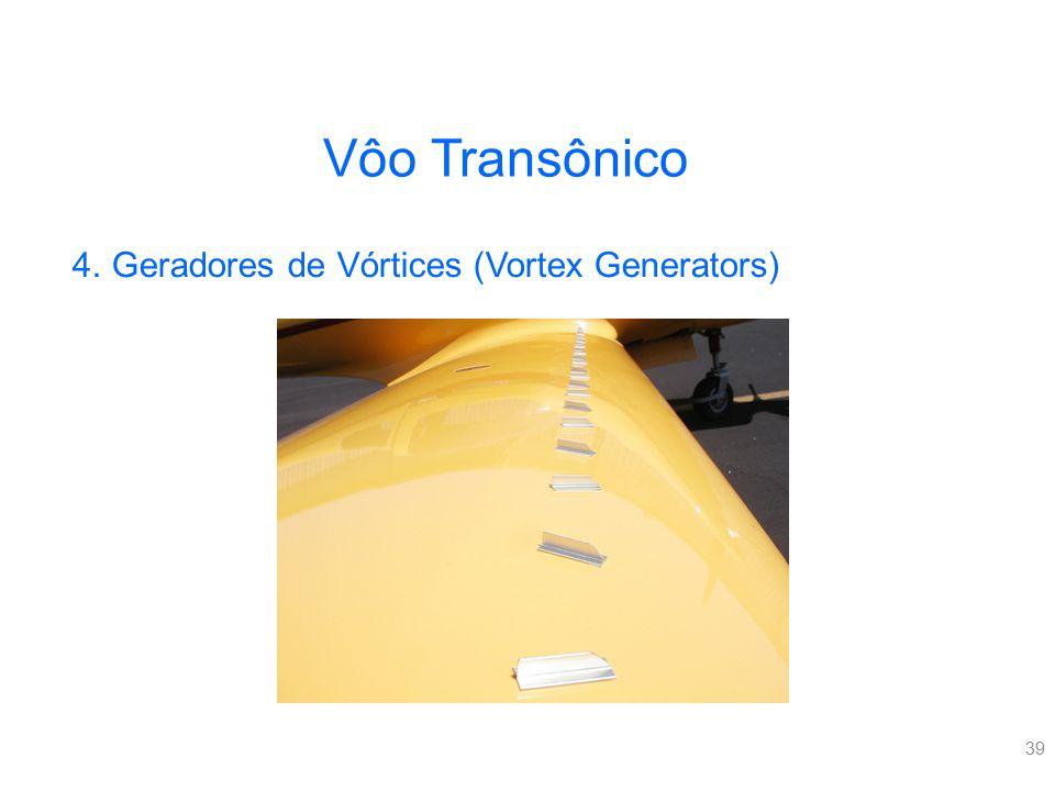 39 Vôo Transônico 4.Geradores de Vórtices (Vortex Generators)