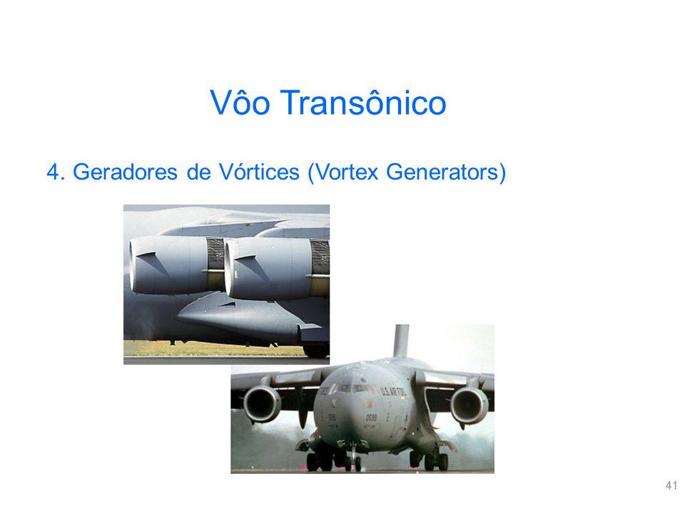 41 Vôo Transônico 4.Geradores de Vórtices (Vortex Generators)