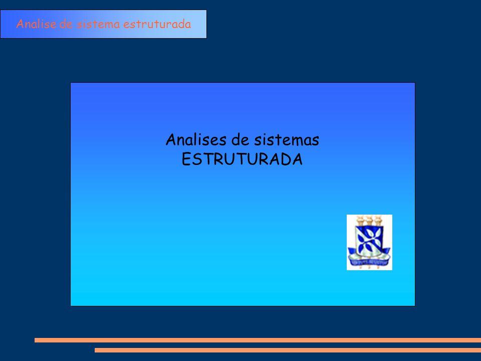 Analises de sistemas ESTRUTURADA Analise de sistema estruturada