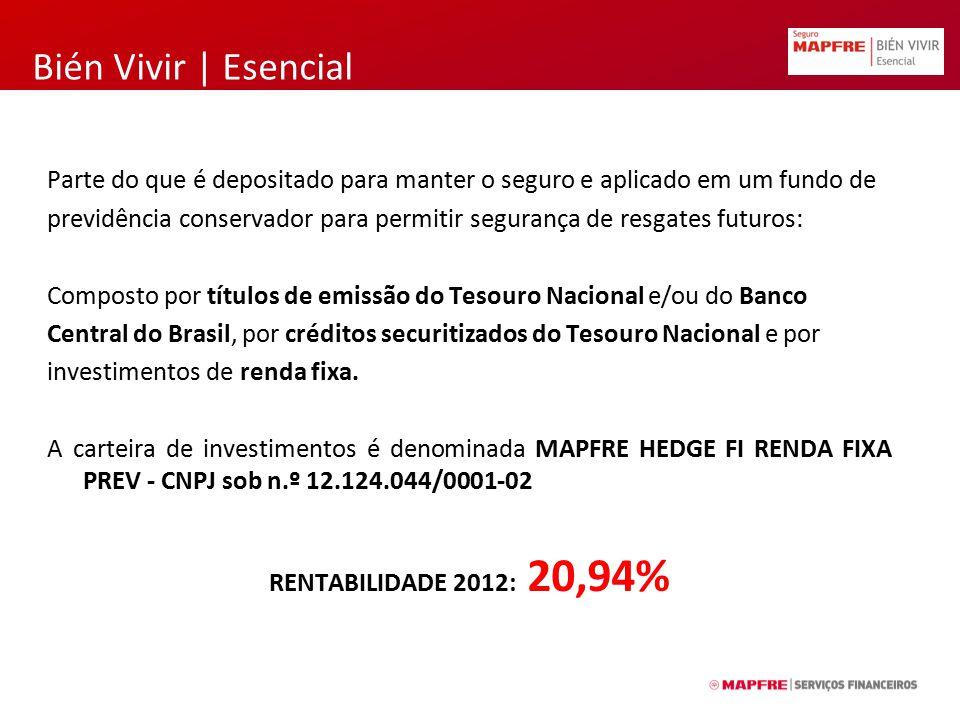 Bién Vivir | Esencial CLASSES DE RISCO 1.SUPER PREFERENCIAL NÃO FUMANTE 2.