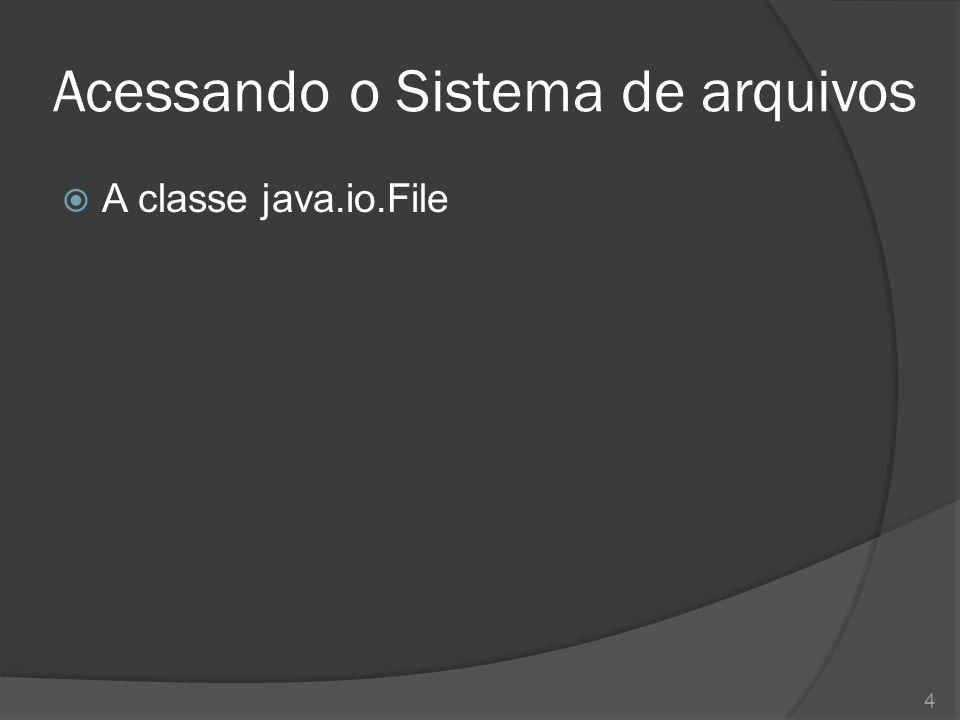 Gravação em arquivos binários  A classe java.io.ByteArrayOutputStream 15