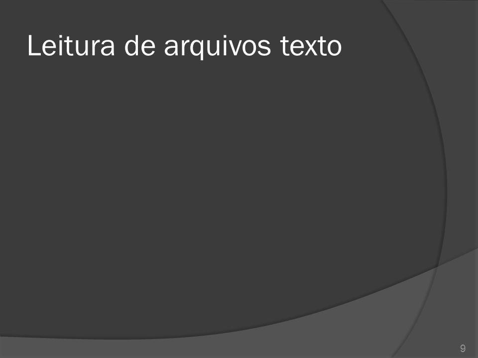 Arquivos de acesso randômico  A classe java.io.RandomAccessFile 20