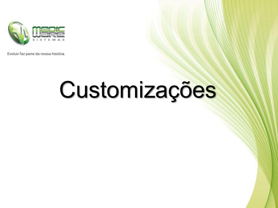 Customizações