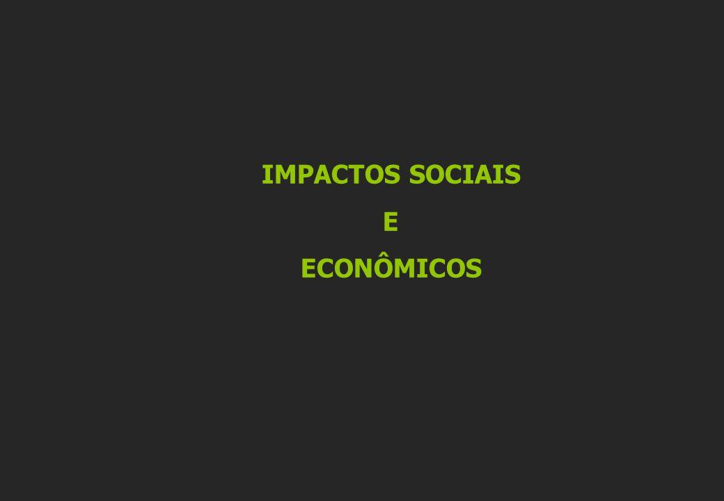 IMPACTOS SOCIAIS E ECONÔMICOS