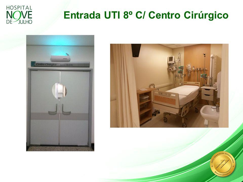 Entrada UTI 8º C/ Centro Cirúrgico