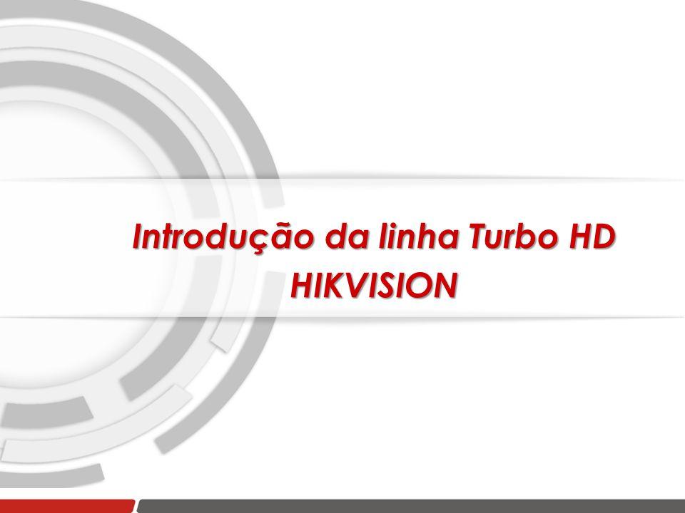 Introdução da linha Turbo HD HIKVISION