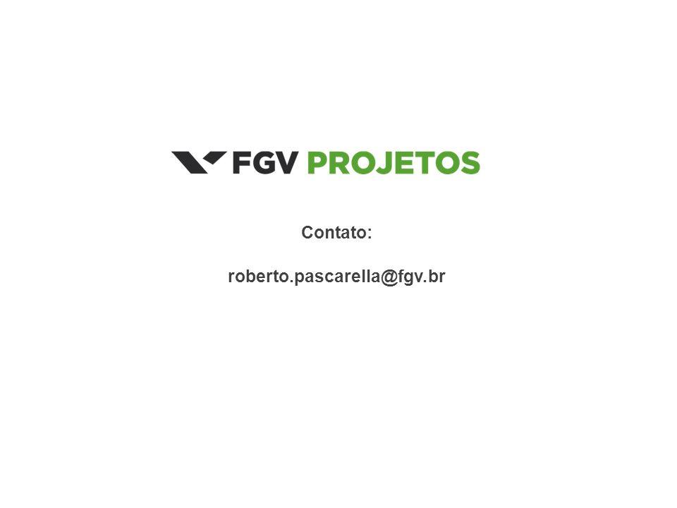 Contato: roberto.pascarella@fgv.br