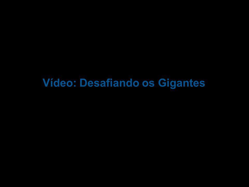 Vídeo: Desafiando os Gigantes