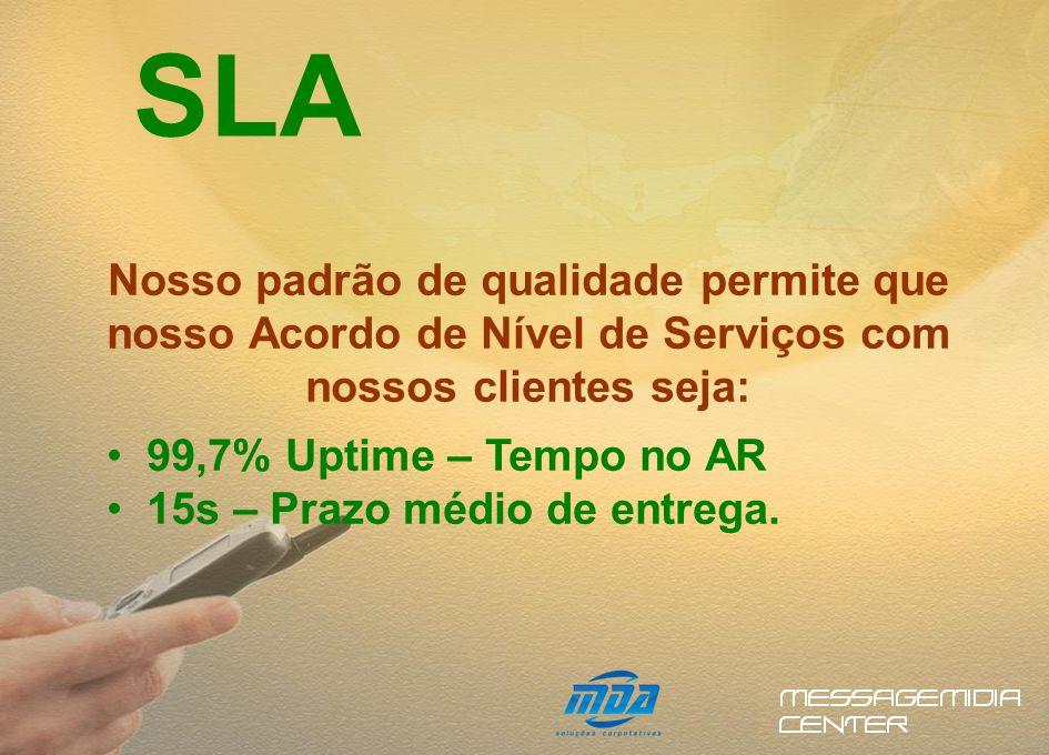 Enviamos SMS para todas as operadoras do Brasil. COBERTURA