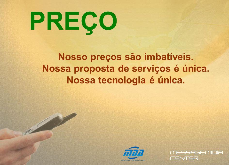SOLUÇÕES Soluções 100% Brasileiras que irão se encaixar na sua forma de enviar sms.