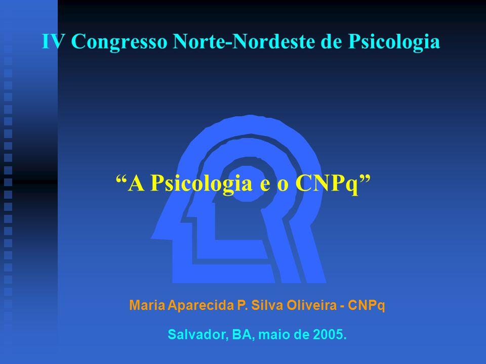 IV Congresso Norte-Nordeste de Psicologia Maria Aparecida P.