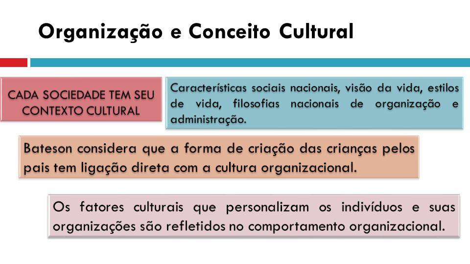 Organização e Conceito Cultural