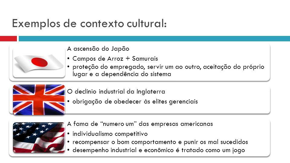 Culturas e Subculturas das Organizações Os indivíduos pertencentes a uma cultura têm diferentes personalidades enquanto compartilham de muitas coisas comuns, logo, isto também acontece com grupos e organizações, sendo que este fenômeno é reconhecido como cultura organizacional .