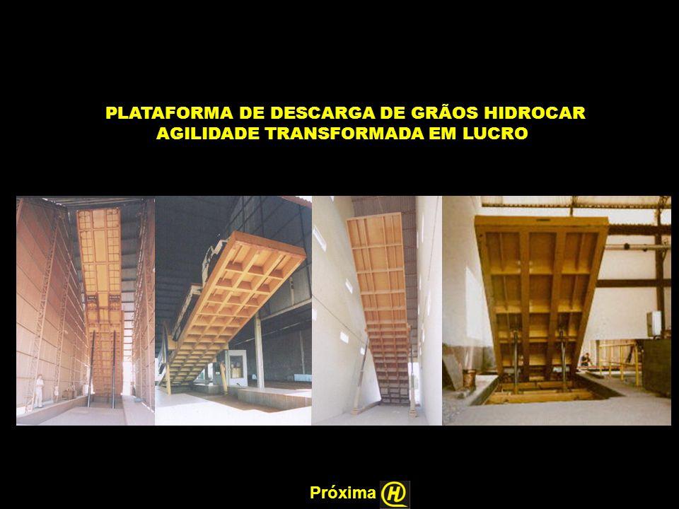 PLATAFORMA DE DESCARGA DE GRÃOS HIDROCAR AGILIDADE TRANSFORMADA EM LUCRO Próxima