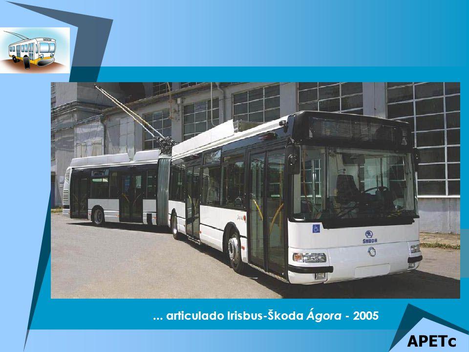 ... articulado Irisbus-Škoda Ágora - 2005 APETc