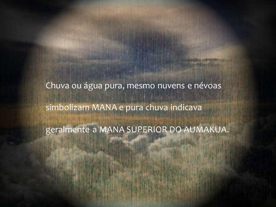 """O Aumakua é simbolizado pela luz, """"La"""", é o sagrado Deus Luz. Em traduções de alguns dialetos polinésios, a cor vermelha é o símbolo das coisas mais s"""