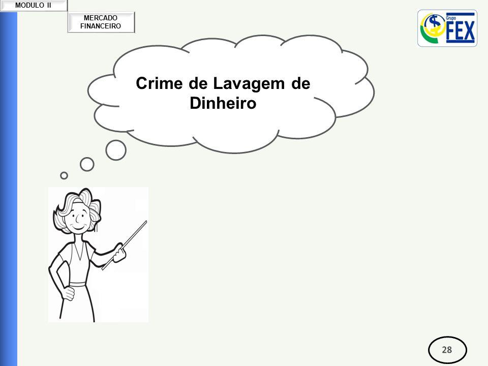 MERCADO FINANCEIRO MODULO II Crime de Lavagem de Dinheiro