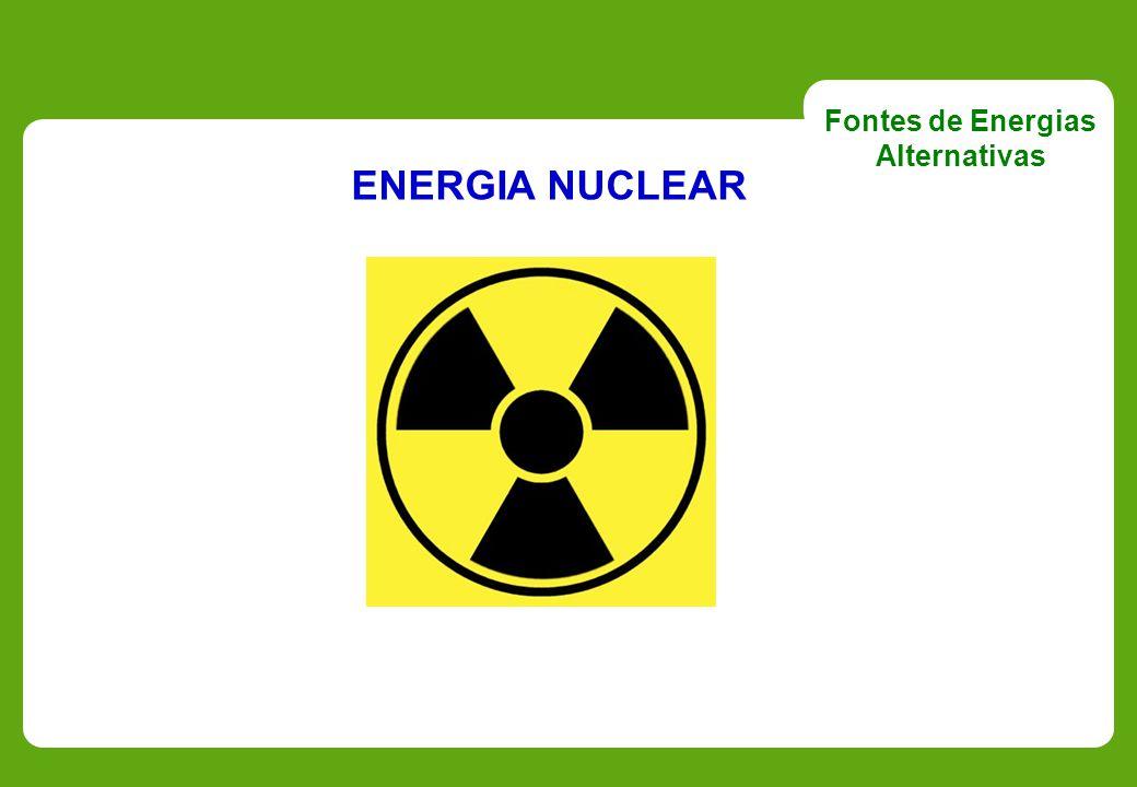 ENERGIA NUCLEAR Fontes de Energias Alternativas