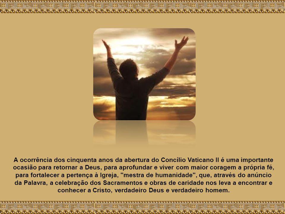 Texto - A fé cristã, operante na caridade e forte na esperança, não limita, mas humaniza a vida. Catequese de Bento XVI na Audiência Geral de quarta-