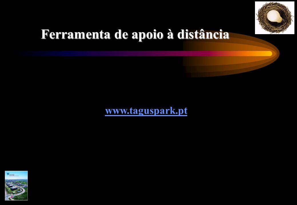 Ferramenta de apoio à distância www.taguspark.pt