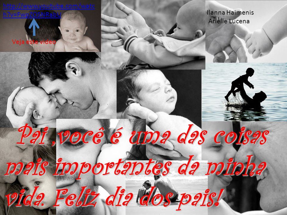 Pai,você é uma das coisas mais importantes da minha vida. Feliz dia dos pais! Pai,você é uma das coisas mais importantes da minha vida. Feliz dia dos