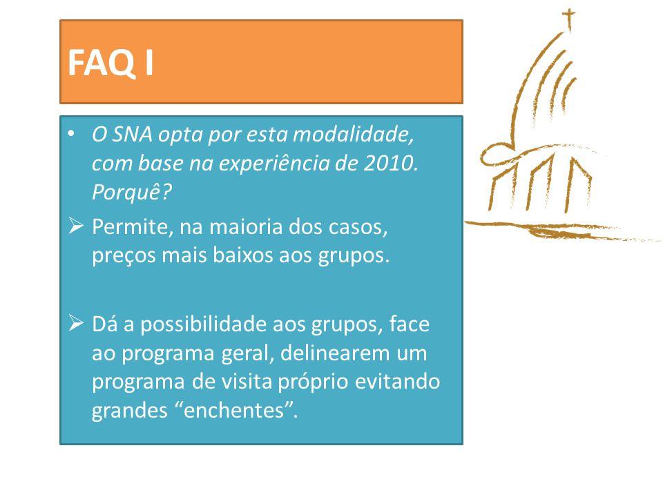FAQ II Quem fará a distribuição de informação, tradução e materiais, antes da viagem.