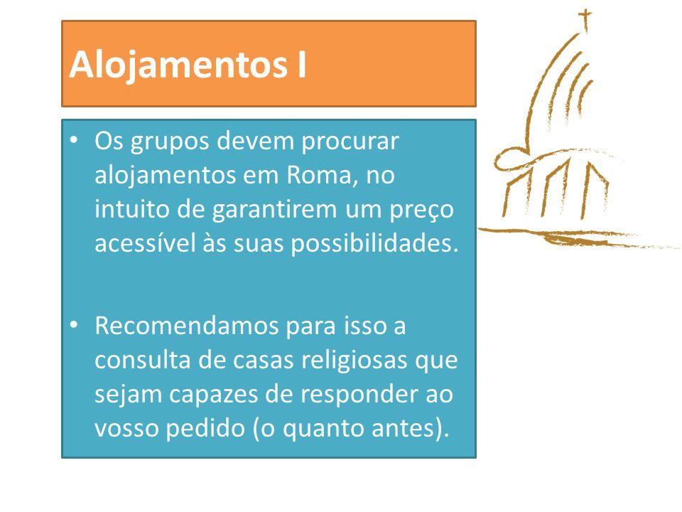 Alojamentos II O SNA está a desenvolver esforços, em dois sentidos: Apoio a grupos insulares e de regiões afastadas dos principais aeroportos (Lisboa e Porto), no sentido de prestar apoio em escala.
