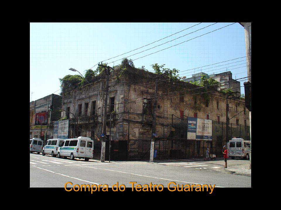 Compra do Teatro Guarany