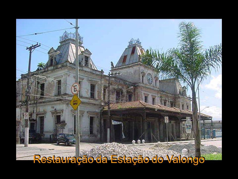 Restauração da Estação do Valongo