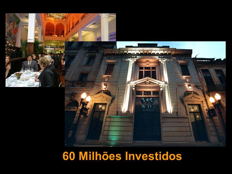 60 Milhões Investidos
