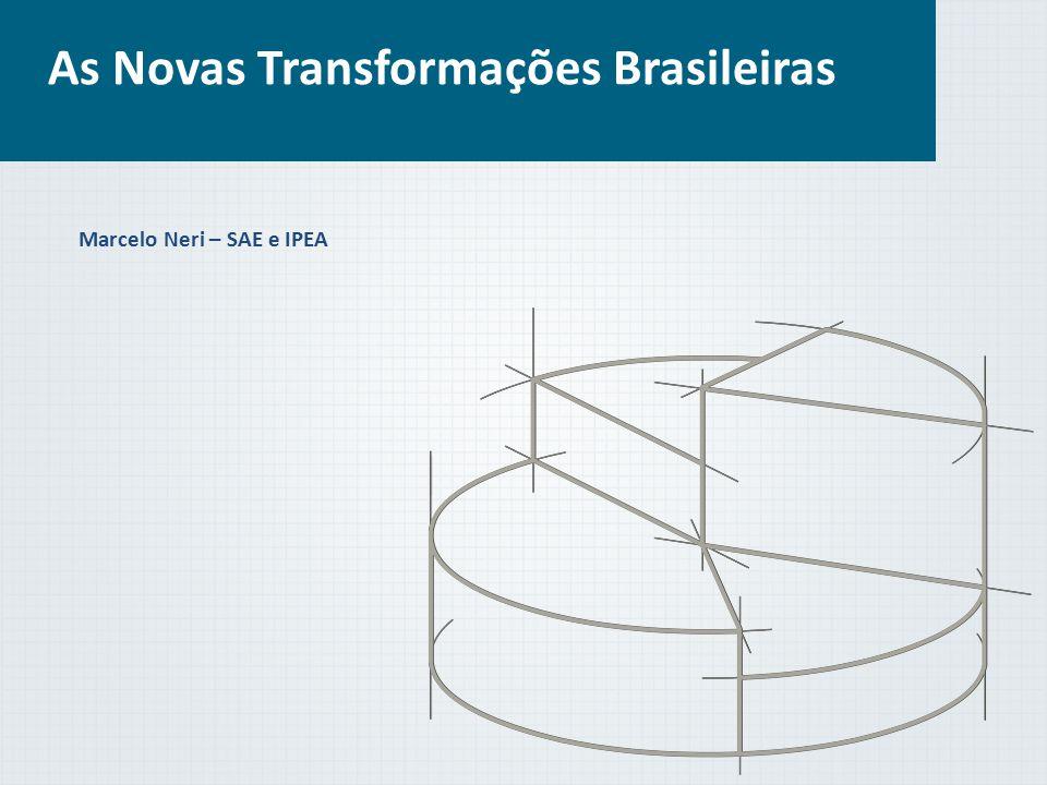 As Novas Transformações Brasileiras Marcelo Neri – SAE e IPEA
