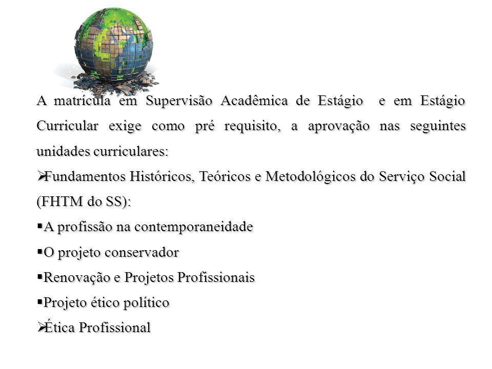 Mais informações: Setor de Estágio do curso de Serviço Social: (13) 38783833 ssestagiounifesp@gmail.com Secretária de Estágios do Campus Esmeralda (13) 38783706 esmeralda.unifesp@gmail.com