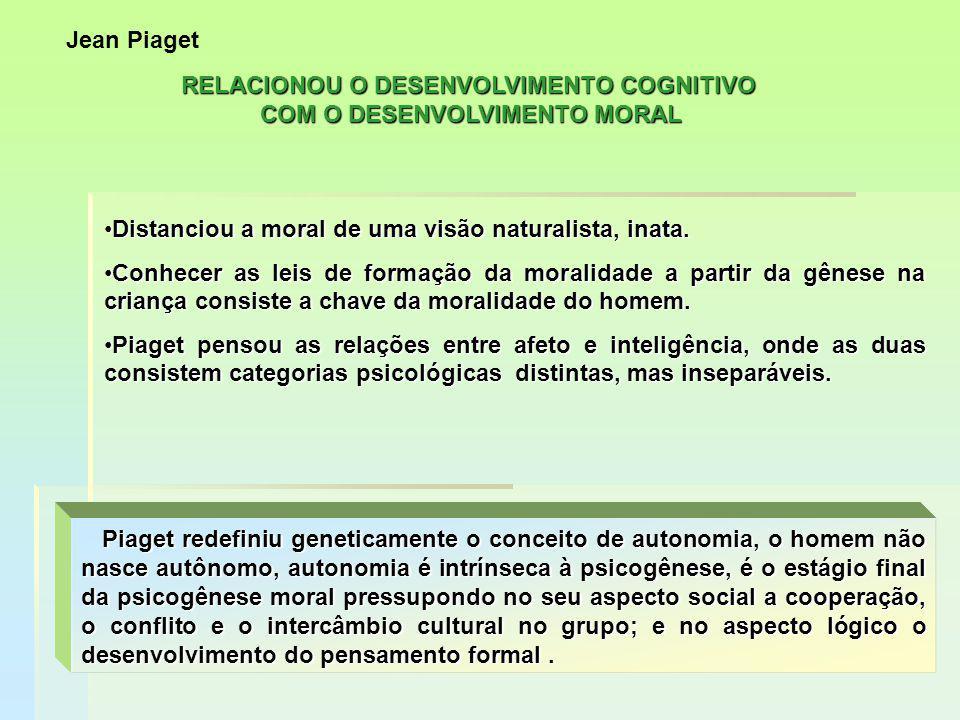 TEORIA DOS ESTÁGIOS MORAIS – Raciocínio moral Nível pré convencional.Estágio 2- Hedonista Individualismo concreto troca instrumental de serviços.