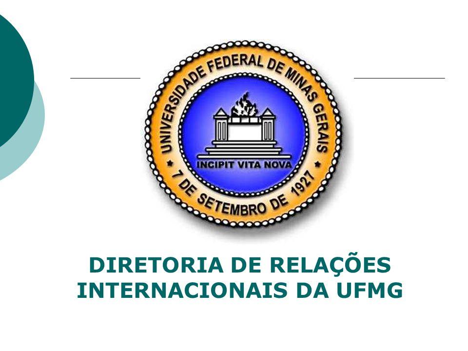 DIRETORIA DE RELAÇÕES INTERNACIONAIS DA UFMG